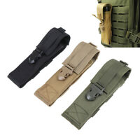 1PC Flashlight Holder Case Holster Tactical Flashlight Pouch For Camping