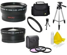 Accessory Kit Lens Filters Tripod Bag for Canon Vixia HF R700 R600 R72 R70 R62