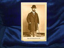 HENRI DE TOULOUSE-LAUTREC 1875 Post-Impressionist Artist Cabinet Card Photo