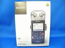 Sony PCM-D100 Portable Linear Hi Res Audio Recorder Japan Domestic Version New