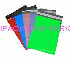 200 multi-color 9x12 Poly Mailers Shipping Envelope Shipping supplies (40/color)