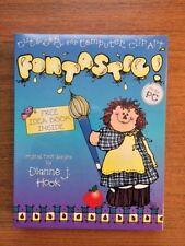 """D.J. Inkers Computer Clip Art """" Fontastic"""""""