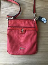 Womens Guess Confession Mini Bag - Red Leather - Purchased From America WITH TAG
