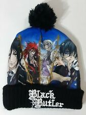 Black Butler Anime Pom Pom Beanie Knit Hat