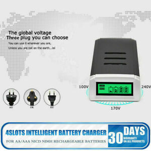 Intelligent Universal Battery ZX Charger LCD AAA NiCad AA Alkaline Ni-MH Battery