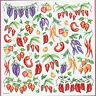 Hoja de Papel De Arroz Verduras Chiles Stamperia DFT123 Para Decoupage/Collage