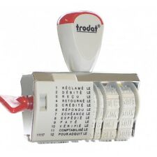 Trodat Tampon dateur -multiformule 1117 Francais 12 Tex