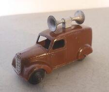 Dinky Toys Loud Speaker Van Post War Dinky Toys 34c/492  Commercial Model Brown