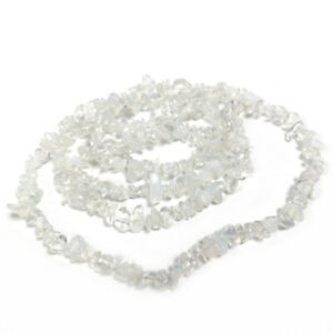 Clear Opalite Beads Chip 5-8mm Long Strand Of 240+