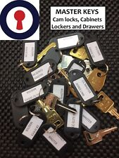 Ronis CC series and Link Lockers Master key, CC Series WSS 1st P&P