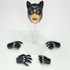 DC Catwoman No. 2 Arkham City Head & 4 Hand Parts By Square Enix Play Arts Kai