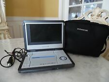 DAEWOO DPC-8400N PORTABLE DVD PLAYER w/case and power supply.