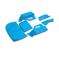 Car shell body Blue colour(Crashworthiness) for 1/5 Losi 5ive T rc car parts