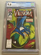 VENOM LETHAL PROTECTOR #3 CGC 9.6 White Pages Marvel 1993 Spider-Man App 014