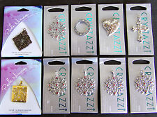 LOT OF 10 New Pendant CHARM JEWELRY - MAGNETIC ~ CRYSTAZZI ~ PERLE NOUVEAU ~ Z6
