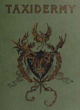 Taxidermy Taxidermist Books How to Skin Stuff Mount ~Cd