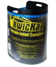 33-55 Gal Portable Instant Trash Holder Container Rack Bag Bin Black Outdoor