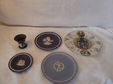 Wedgwood Jasper Ware Job Lot 4 pieces +plate - all boxed