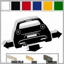 adesivo sticker alfa romeo MITO tuning down-out dub prespaziato,auto