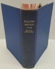 Isolated American by Raymond Leslie Buell Hardcover Book 1940 1st Edition Knopf