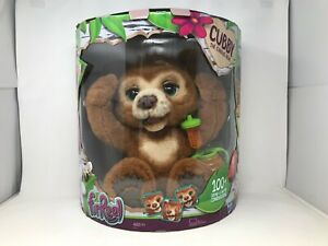 FurReal Cubby - The Curious Bear Interactive Plush Toy