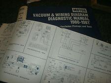 1980 1981 OLDSMOBILE TORONADO CUTLASS 88 98 WIRING VACUUM DIAGRAMS SHEETS SET