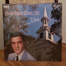 Elvis Presley How Great Thou Art Sealed LP