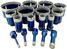 Diamantbohrkrone M14 Fliesenbohrer Diamantbohrer 6 -102 mm für Winkelschleifer