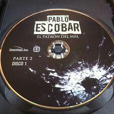Pablo Escobar Parte 2 Disc 1 Replacement Disc DVD ONLY