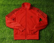 ADIDAS ORIGINAL FIREBIRD CLASSIC RED womens TRACK TOP JACKET SIZE 38 (M)