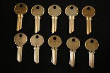 New listing 10 Yale Key Blank Y1, #8, 999, E8E1R, Ya8 Brass 5 pin Ilco Locksmith Nos Lock
