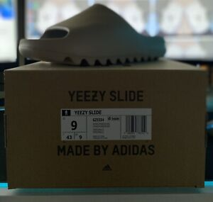 """Adidas Yeezy Slide """"Pure"""" Size 9 (GZ5554) *IN HAND* READY TO SHIP FREE SHIPPING"""
