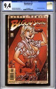 BLOODSTONE #4 CGC 9.4 (2002, 1st print) Indiana Jones cover homage