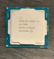Genuine Intel Core i5-7500 SR335 3.40GHz Speed Tested & Working