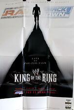 2002 WWE King of the Ring Wrestling Poster PPV Event Art Undertaker VS Tripple H