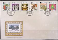GB Isle of Man 2013 Christmas Stamp Gallery SG 1859/64 FDC XMAS NOEL WEIHNACHTEN