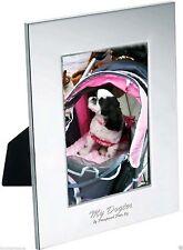"Pampered Pets ""My Dogter"" Radiance Vertical Laser Engraved Photo Frame Photo"