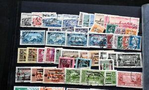 LIBANON Umfangreiche Sammlung mit bessren Ausgaben Komplette Serien usw.