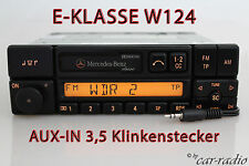 ORIGINALE Mercedes w124 CLASSE E CLASSIC be1150 Aux-in mp3 Jack radio cassetta