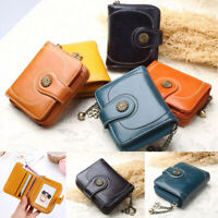 Wallet Clip Coin Purse ID Card Holder Leather Wallets Credit Cards Wallet