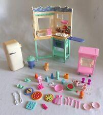 Barbie All Around Home B6273 Kitchen Playset 2000 Retired Accessories
