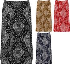 Gonne e minigonne da donna plissettati, kilt multicolore lunghezza lunghezza al ginocchio
