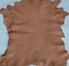 Vera pelle di capra al vegetale cuoio naturale,pellami/pellame