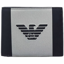 Portafoglio EMPORIO Armani Logo Aquila Portamonete Y4r165 Yfe6j Navy/silver