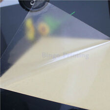50 Sheets Transparent PVC Vinyl A4 Sticker Thin For Laser Printer And Lamination