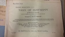 Offenbach: Tales Of Hoffman: Brass Band Parts: Music Score