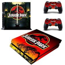 Jurassic Park Dinasour Vinyl Decals Stickers for PS4 Console Controllers Skins