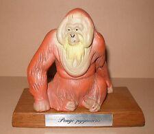 Schleich Orang - Utan MIT Holzsockel aus der Schleich WWF Serie!