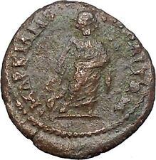 GETA Marcianopolis in Moesia Inferior Rare Ancient Roman Coin Asclepius i48511