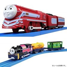 Tomy Pla Rail Trackmaster Thomas & Friends Motorized Caitlin & Ashima 2 Train